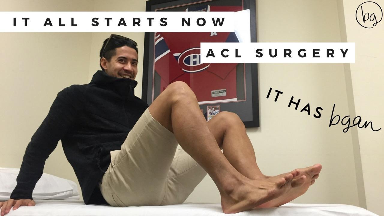 Brendan Gan ACL surgery ACL rehab ACL Tear Physio Football